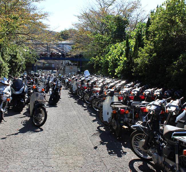 キンキオートバイ入口
