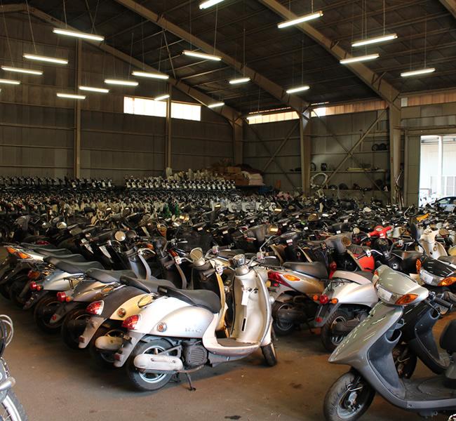 キンキオートバイドーム室内倉庫